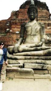 アユタヤ仏像と7